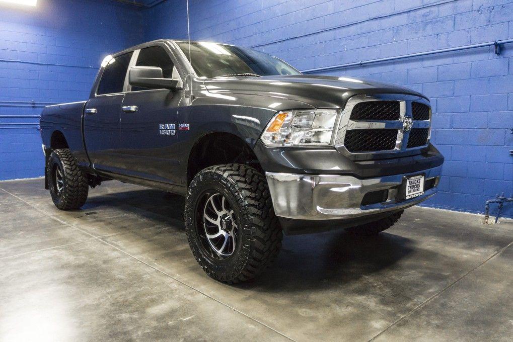 Newly Lifted 2016 Dodge Ram 1500 Slt 4x4 Truck For At Northwest Motorsport Nwmsrocks Liftedtrucks Hemi Dodgetrucks
