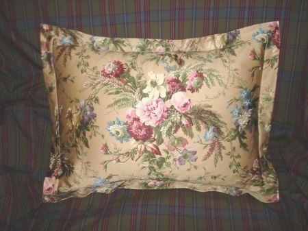 Ralph Lauren custom Adriana FLORAL EURO pillow sham #ralphlaurencustom