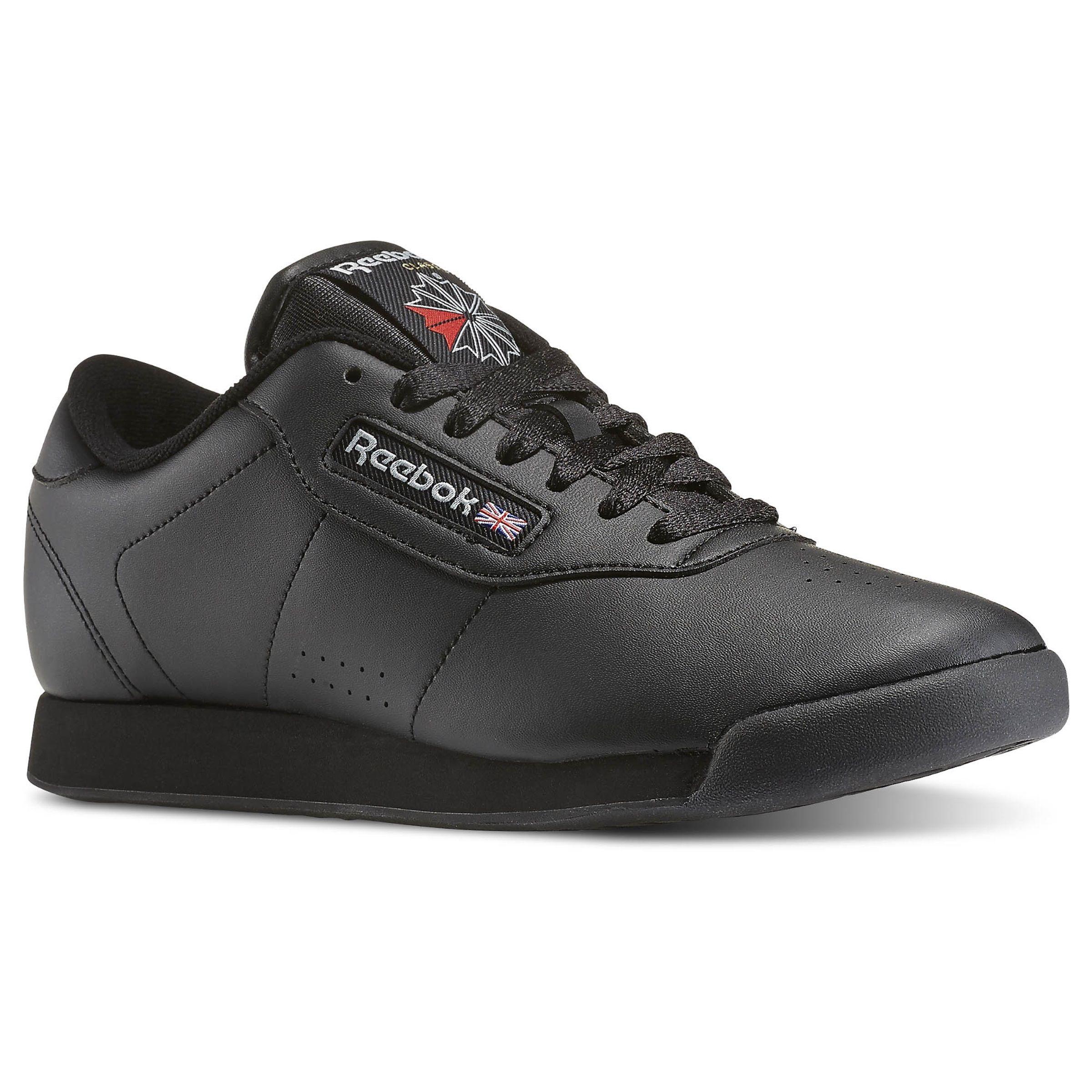 Reebok Shoes Women's Princess in Black Size 5 Lifestyle