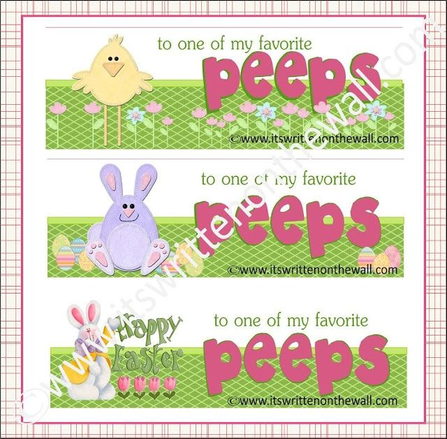 Free printable label just stick 5 peeps in a sandwich bag add free printable label just stick 5 peeps in a sandwich bag add label negle Image collections