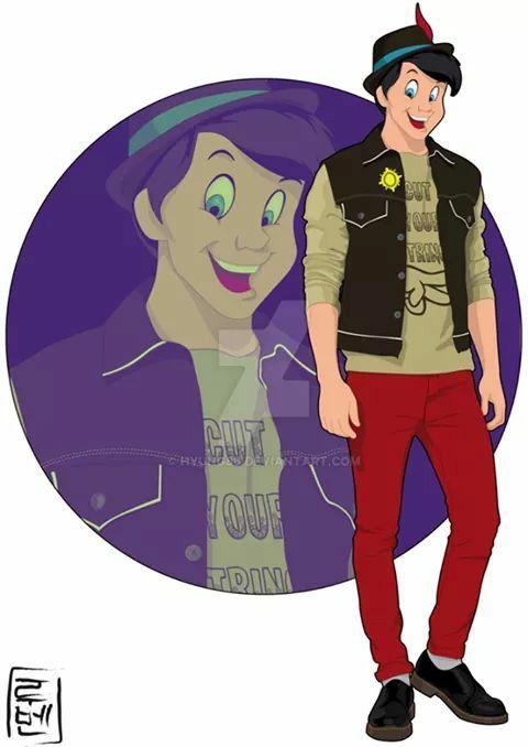Actual Disney Pinocchio
