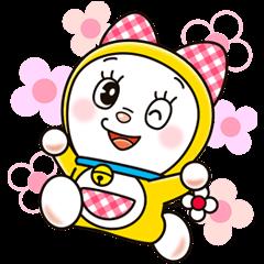 check out the Doraemon & Dorami sticker by Fujiko-Pro on chatsticker.com