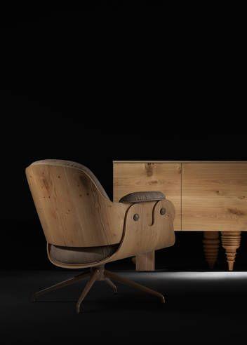 Low Lounger - Swivel | Jaime | BD Barcelona Design