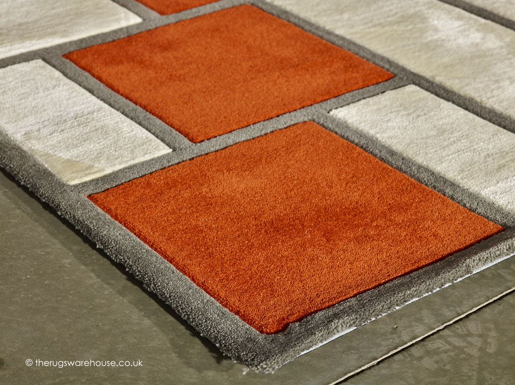 Leone Orange Rug Designer Rugs Orange Rugs Modern Rugs Rug Texture