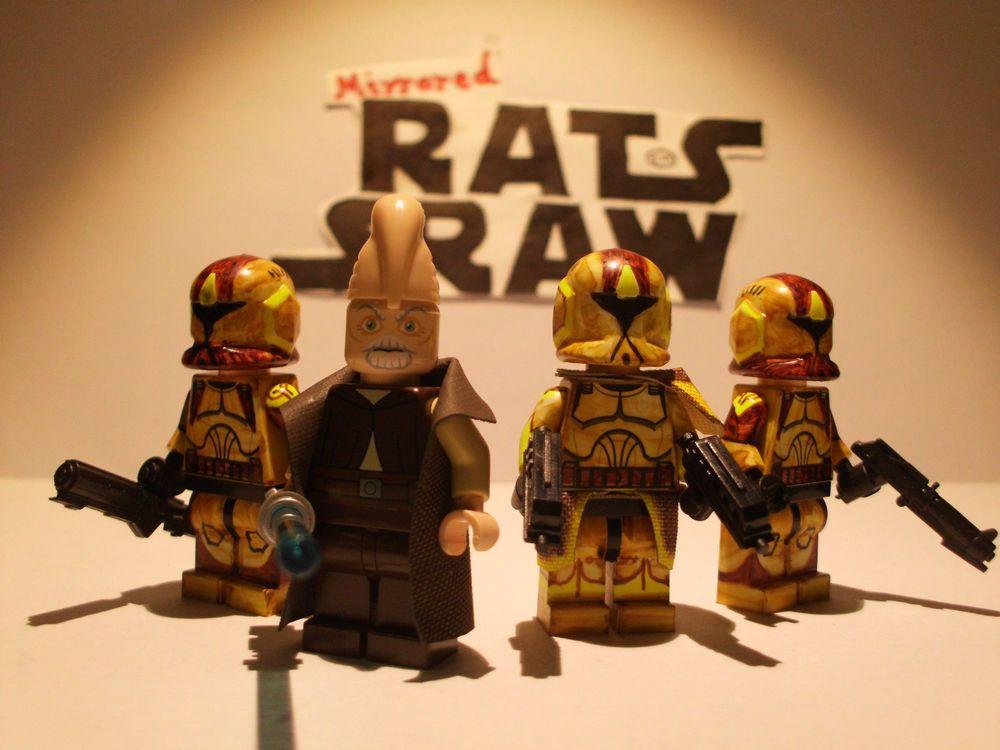 Lego Star Wars minifigures - Clone Custom Troopers - Geonosian ...