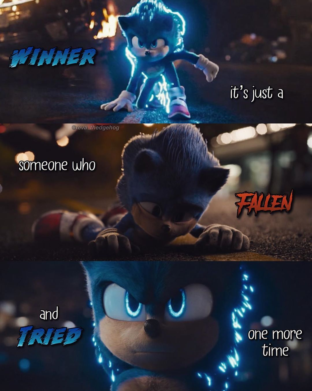 Rᴇᴠᴀ Tʜᴇ Hᴇᴅɢᴇʜᴏɢ I 3 7k On Instagram S Post Stand Up And Fight For What S Right Follow R Sonic The Movie Sonic The Hedgehog Sonic Fan Characters