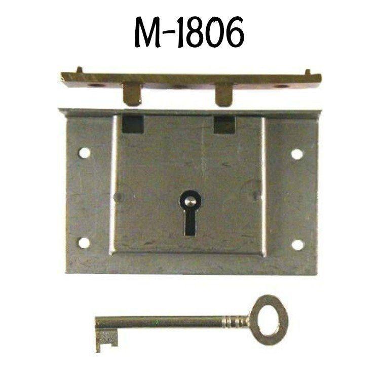 Chest Lock Half Mortise Steel Cedar Chest Locker Storage Mortising