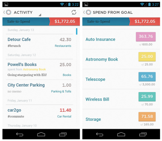 Banking Startup Simple Launches On Android | Android app design ...