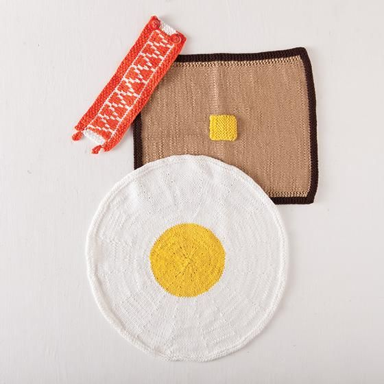 Breakfast of Champions Set - Knitting Patterns and Crochet Patterns ...