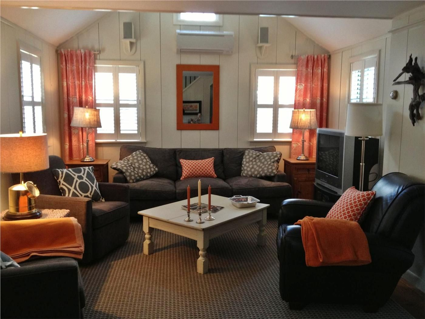 Get comfortable in the newly furnished Living Room Nantucket town ...
