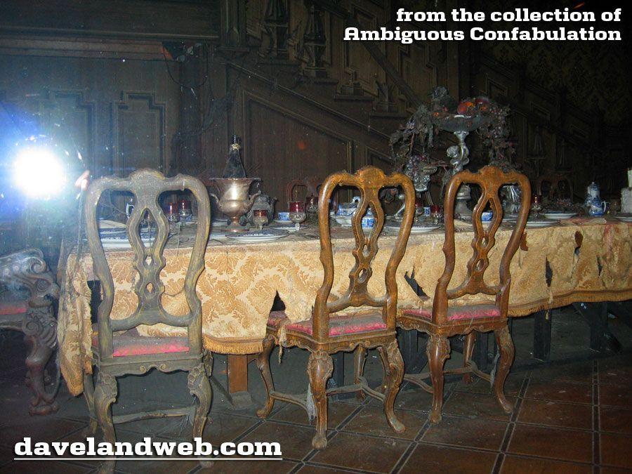 Daveland Haunted Mansion Ambiguous Confabulation Photo Page  Hm Stunning Haunted Mansion Dining Room 2018