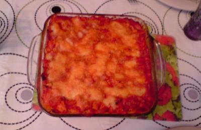 Image de la recette Lasagne poulet mozza