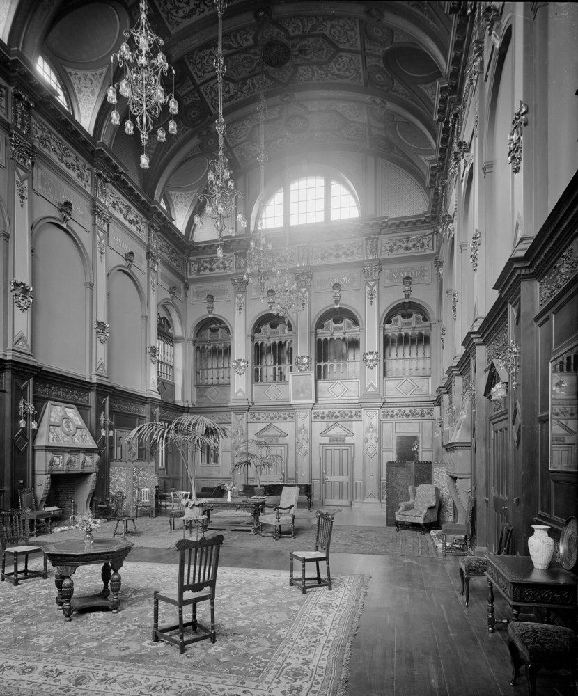 The Great Hall In Craighouse Asylum In Edinburgh, Scotland