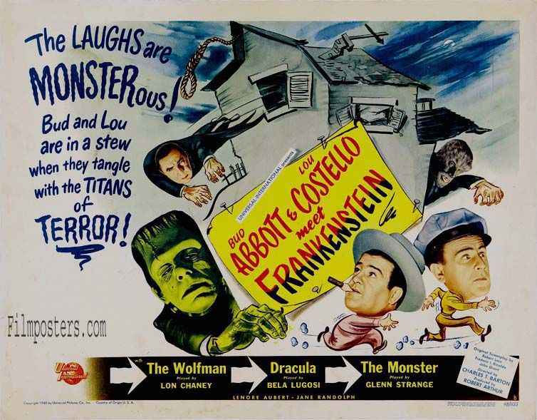 "Frankenstein Lobby Card Replica Photo Print 14 x 11/"""