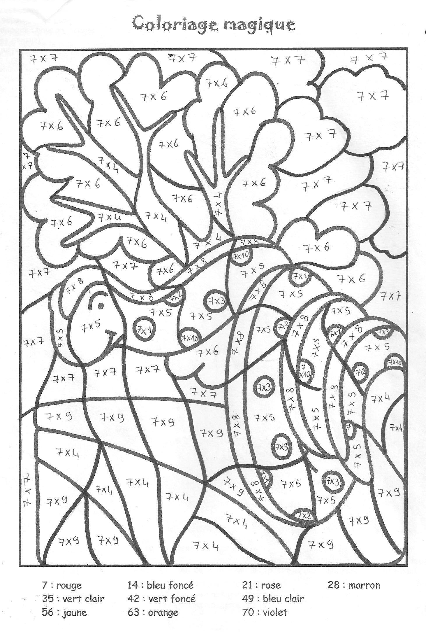 Coloriage Magique Addition Cerca Con Google Le Idee Della Scuola Moltiplicazione Tabelline