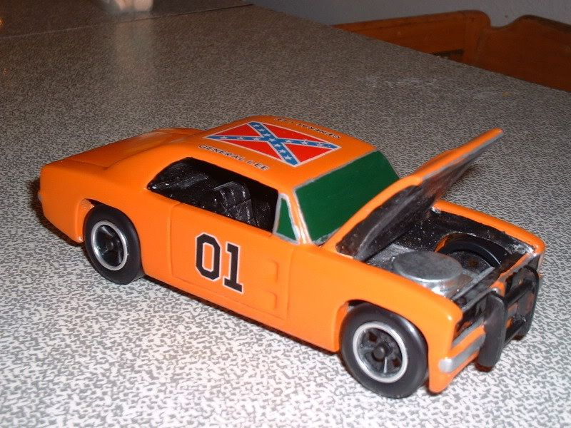 pine wood derby cars | General Lee Pinewood Derby Car - by ...