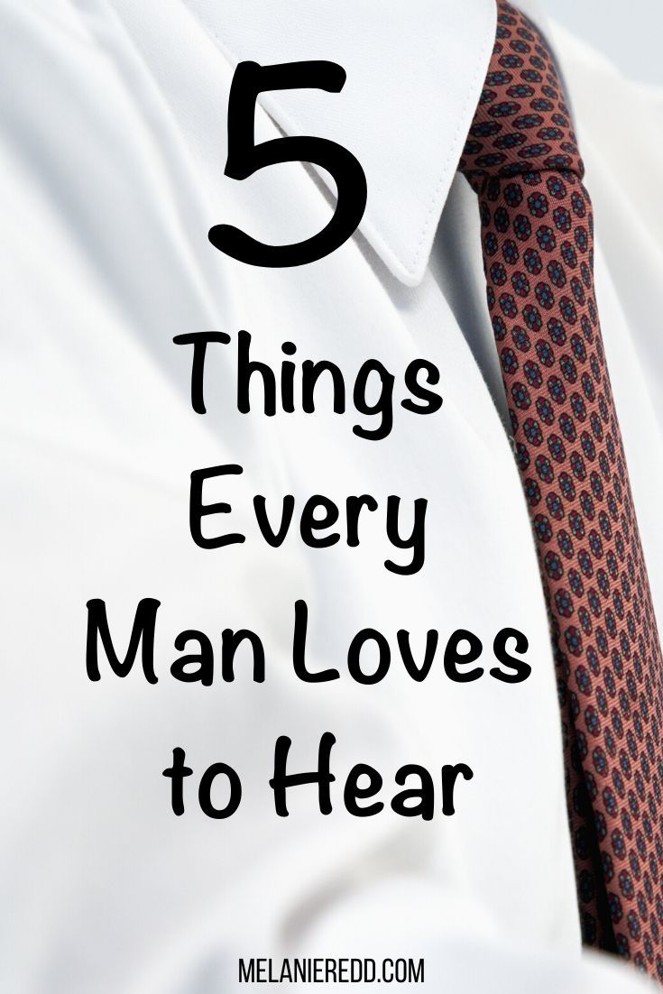 What is it that men really want to hear? What can women say to encourage their men? Here are 5 Simple by Powerful Words that All Men Love to Hear. #men #words #marriage #relationships #menlove