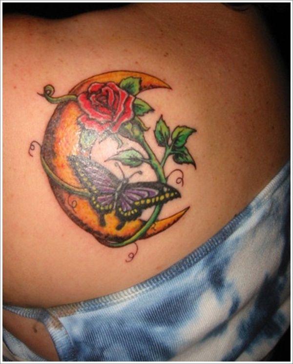 Tattoosclick Com Moon Tattoo Designs Moon Tattoo Full Moon Tattoo