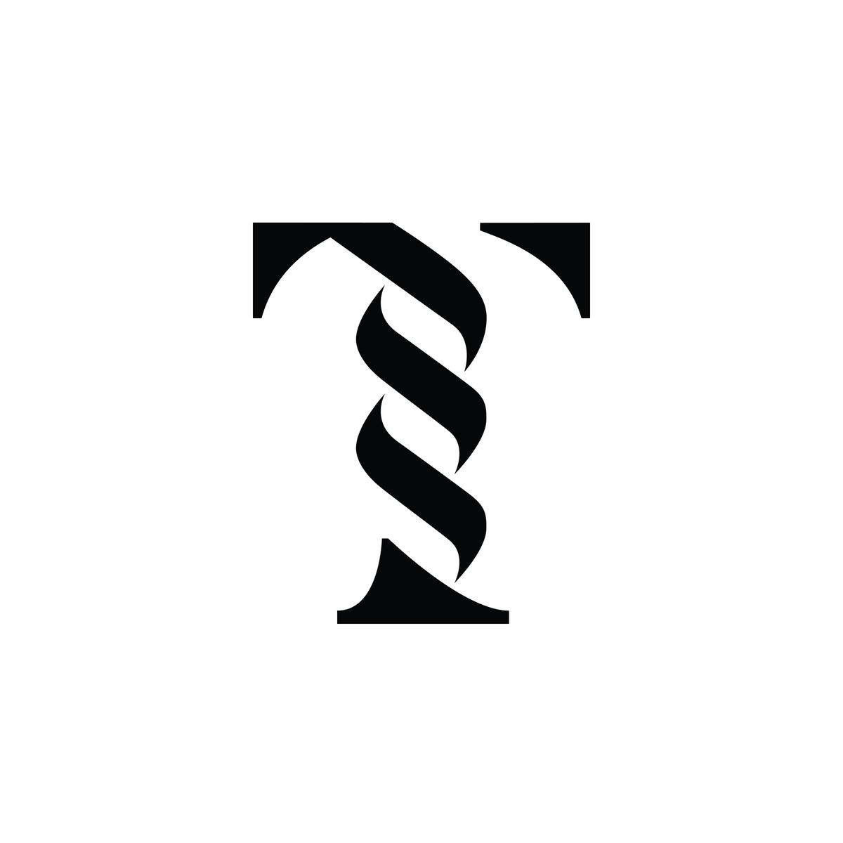 Real Company Logo Letter T Column History Logo Letter Logo Design Museum Logo