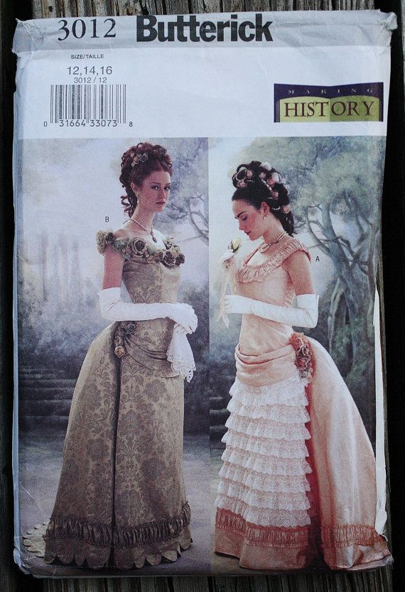 f680ac0a46b Butterick 3012 Making History 1880s Victorian by EleanorMeriwether ...