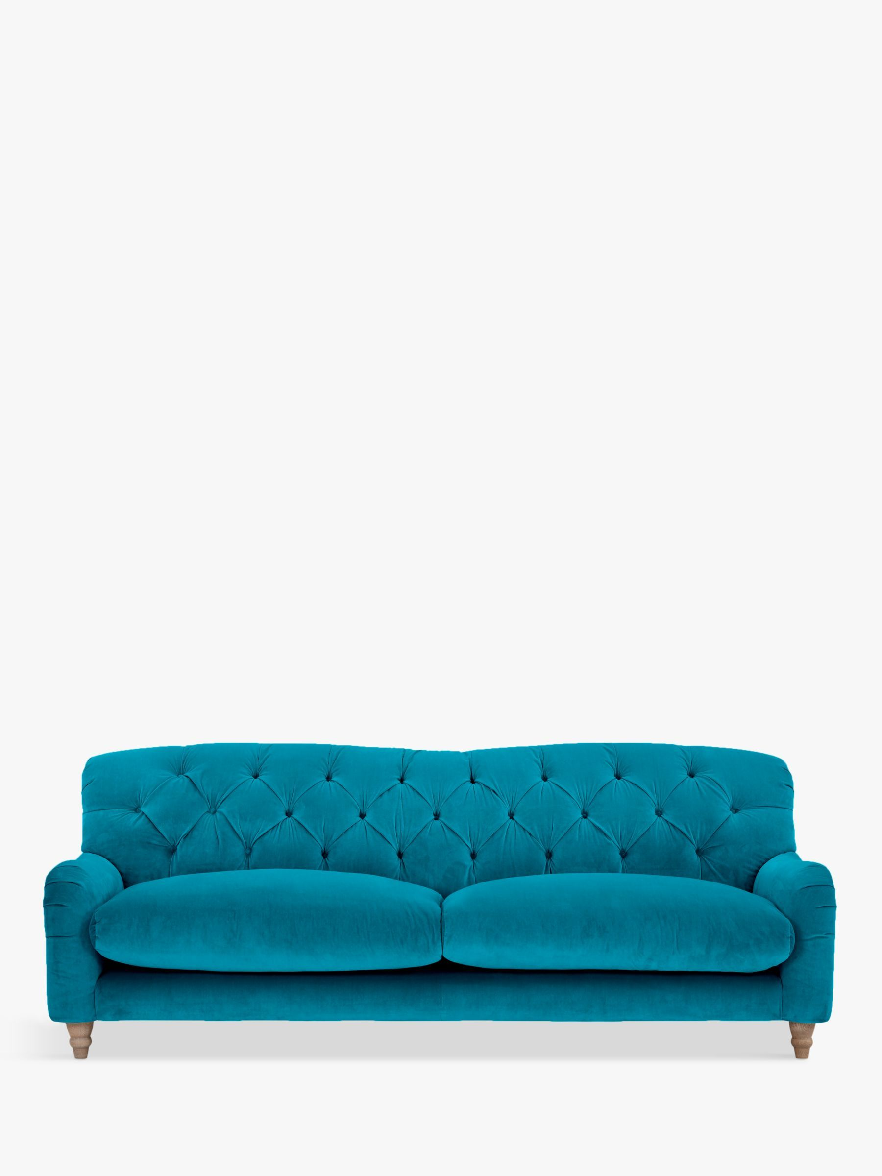 Crumble Grand 4 Seater Sofa By Loaf At John Lewis Brushed Cotton Peacock Sofa 3 Seater Sofa Beautiful Sofas