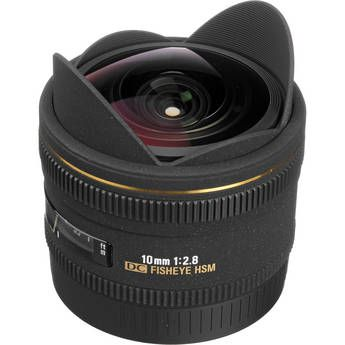 Sigma 10mm F 2 8 Ex Dc Hsm Fisheye Lens For Canon Digital Camera