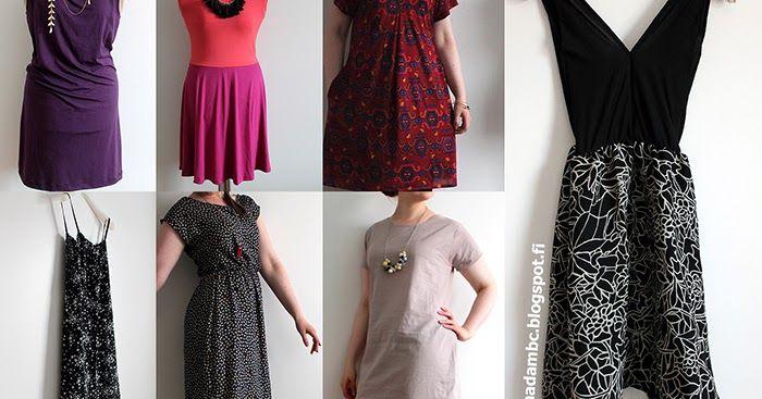 Madam B.C.: Ompele itse mekkosi (Helpot mekko-ohjeet).