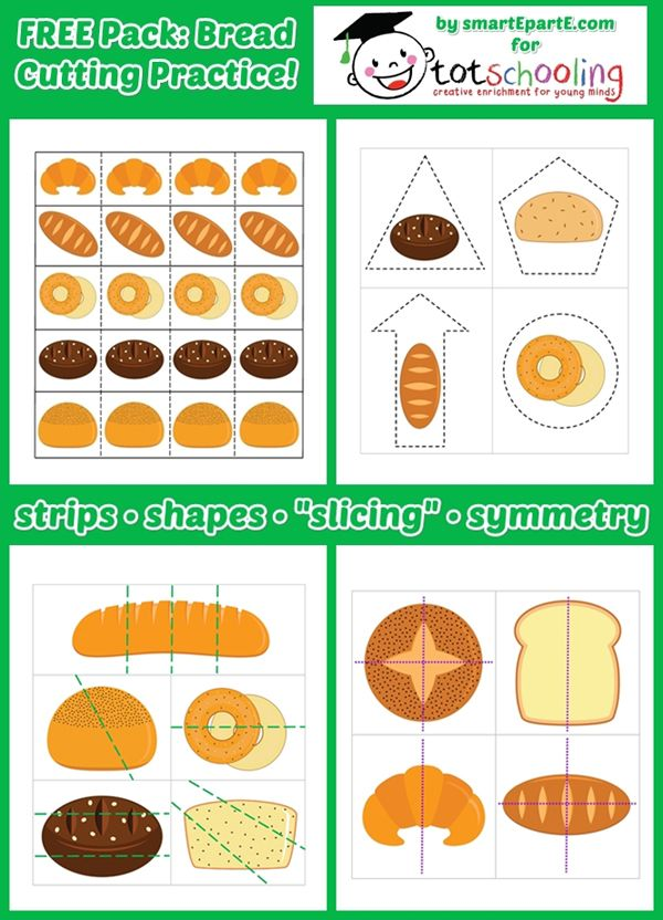 Bread Science Experiment + Free Printable Bread Cutting Pack