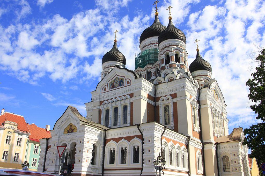 Alexander Nevsky Cathedral, Tallinn, Estonia | Estonia ...