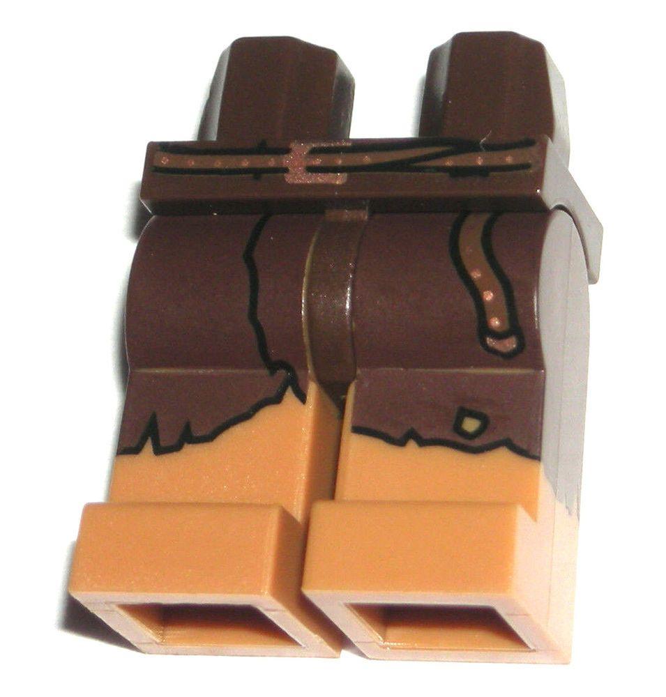 9d2a3d778 LEGO Medium Dark Flesh MINIFIGURE LEGS Belt/Leggings Hun Warrior ...