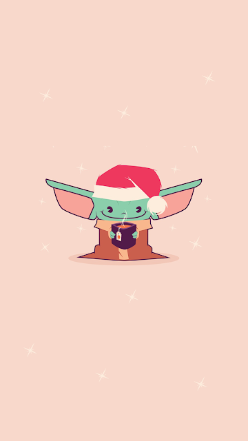 Christmas Xmas Baby Yoda Wallpaper Yoda Wallpaper Star Wars Wallpaper Cute Wallpapers