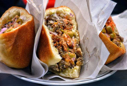 نتيجة بحث الصور عن Sardine Kefta Sandwiches