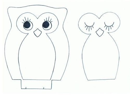 modele hibou couture