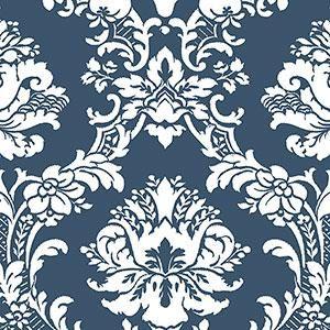 Silk Damask 2 CS35600 Patton Wallpaper | Wallpaper