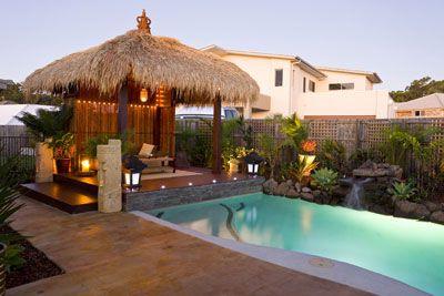 Balinese Backyard Designs love this backyard design! | pool and garden in 2018 | pinterest