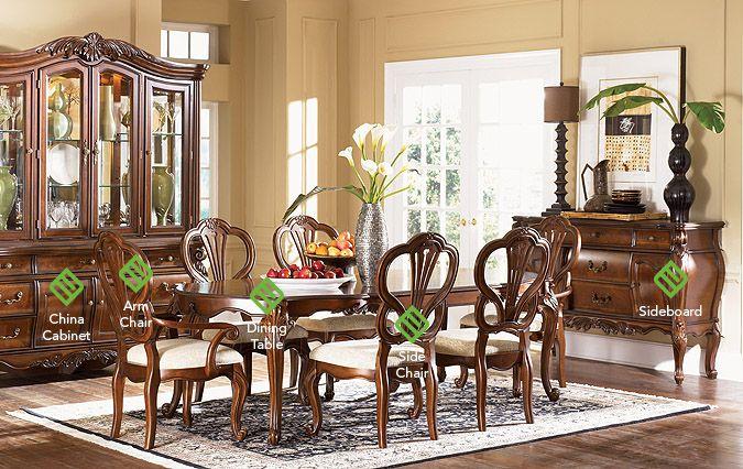 Fairmont Designs Bourbonnais Collection Dining | Country ...