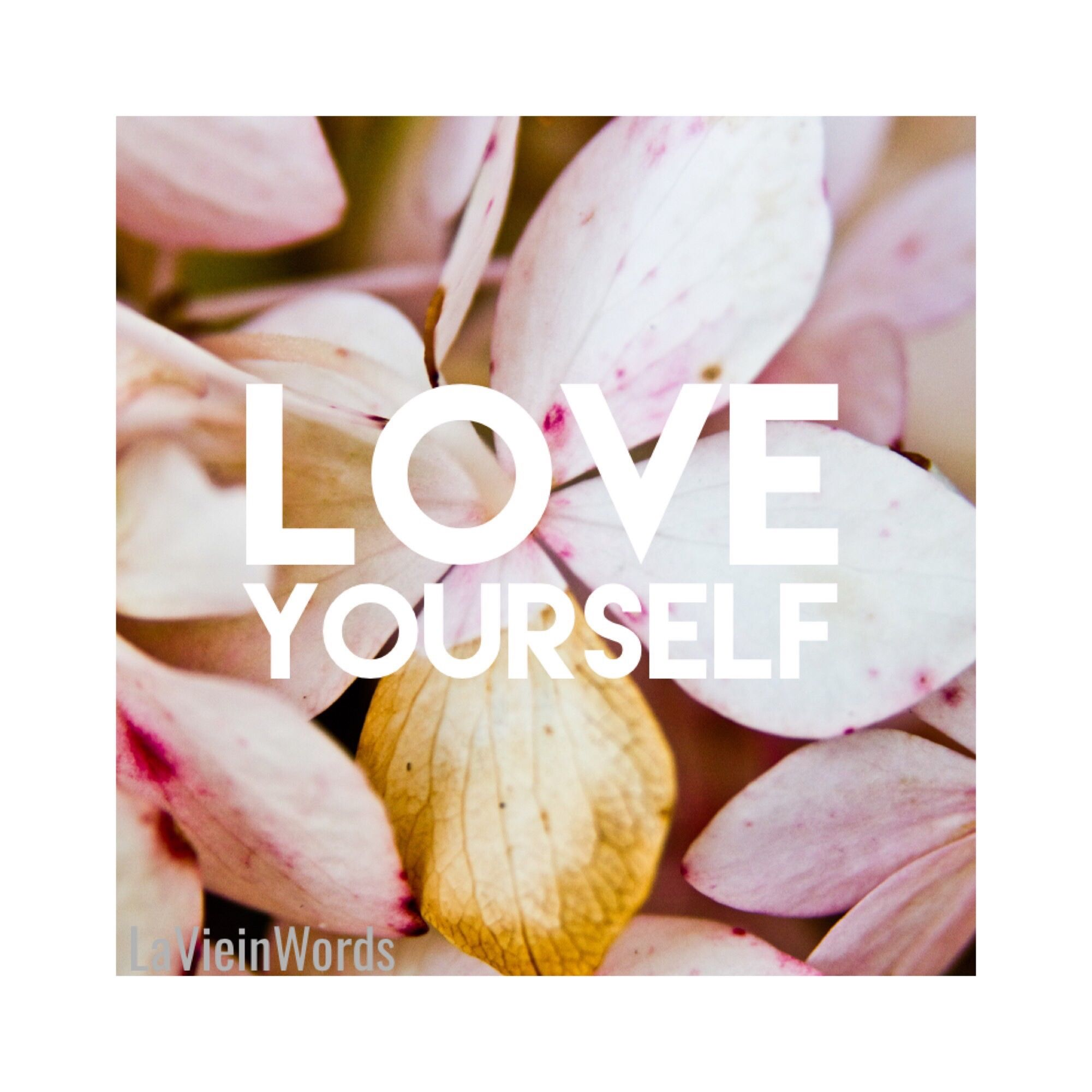 Love yourself love you mean it pinterest feminism and wisdom