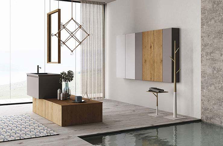 Collezione bagno design contemporaneo mobili bagno in fenix