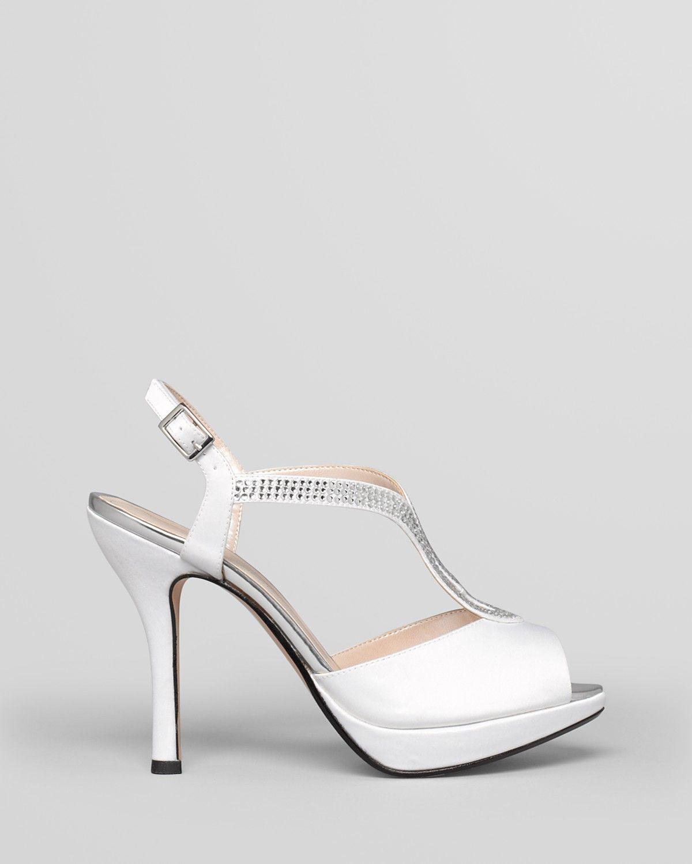 Caparros Evening Sandals - Ellis Platform T Strap | Bloomingdale's
