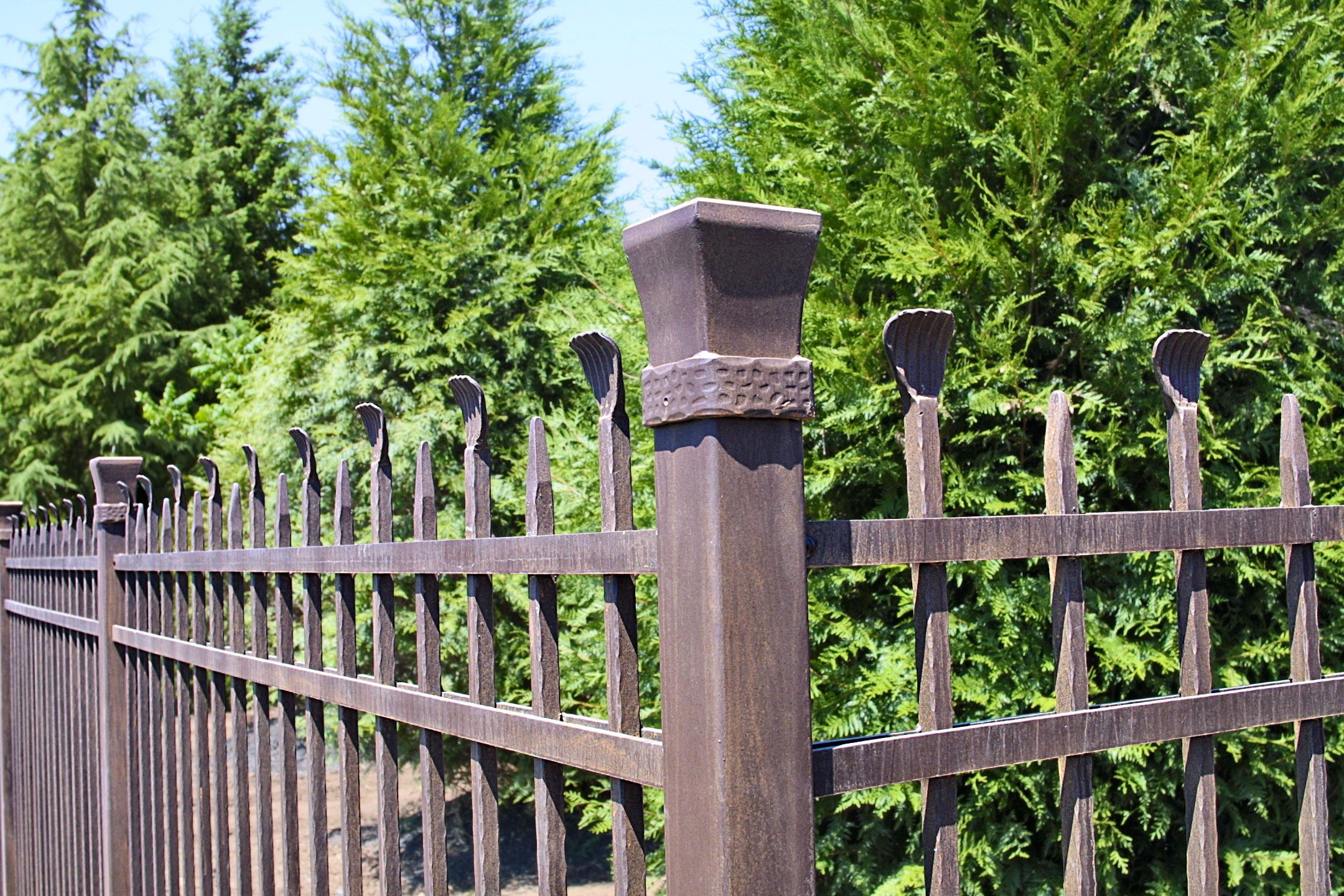 60 Best Ideas For Different Types Of Garden Fence Panels Garden Fence Panels Metal Fence Natural Fence
