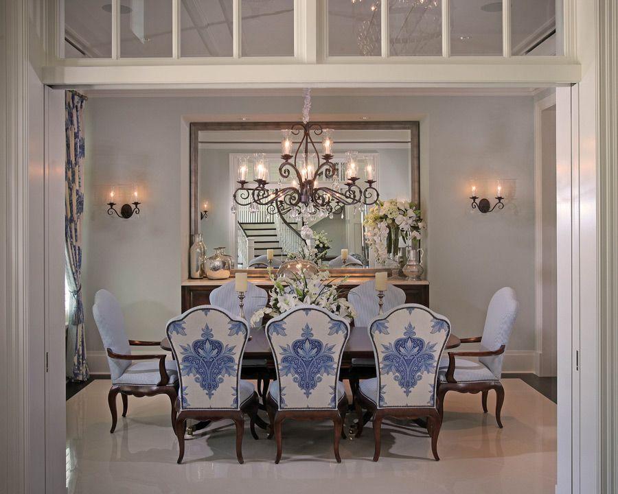 Formal Dining - Jinx McDonald Interior Designs, Naples Florida ...