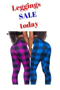 Awesome plaid leggings. Hurry up and buy today before it's gone from stock. You'll love these stretc...