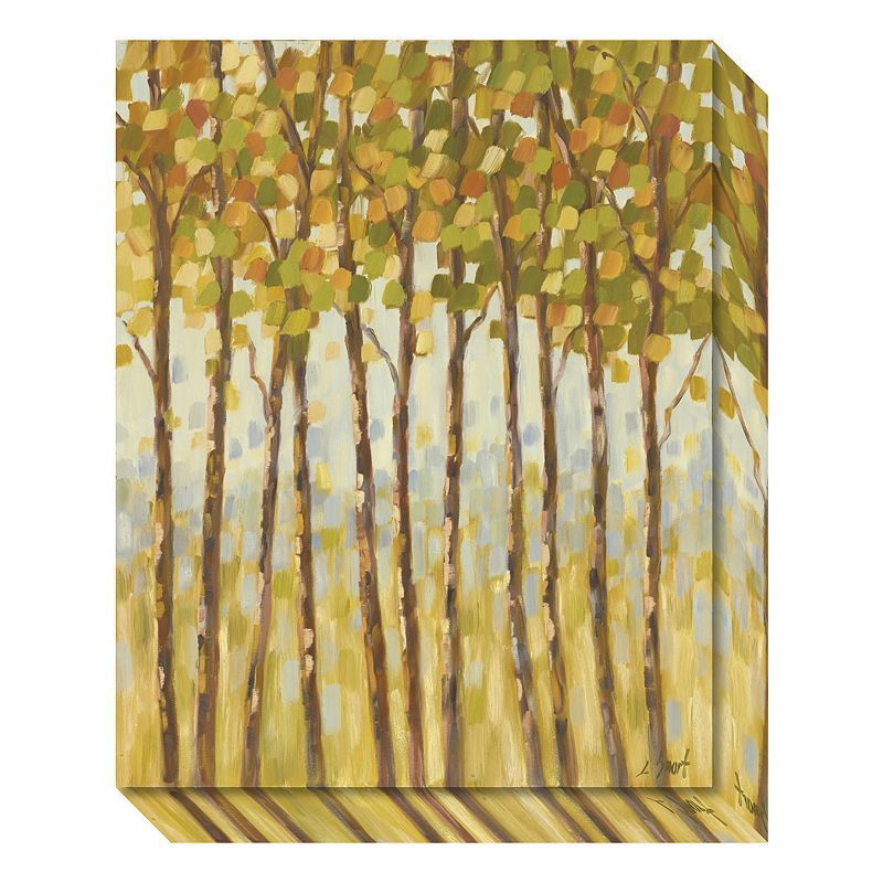 Tall Trees Canvas Wall Art, Multicolor | Tree canvas, Canvases and Walls