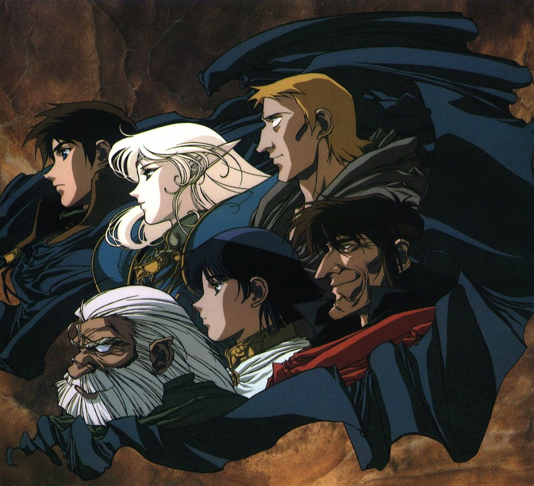 Characters from Lodoss OVA