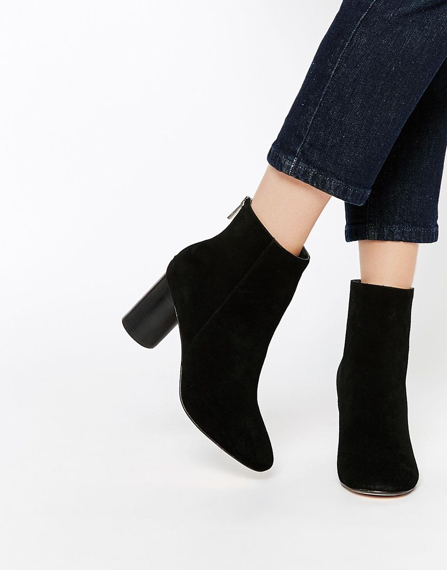 Image 1 of ASOS REESE Suede Ankle Boots