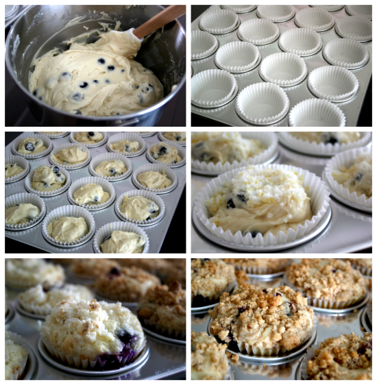 my favorite blueberry muffins via Jessica from THE SUNLIT KITCHEN!!!