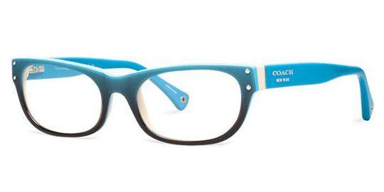 19ccd000074d8 Coach HC6034 5099 Turquoise Gradient eyeglasses