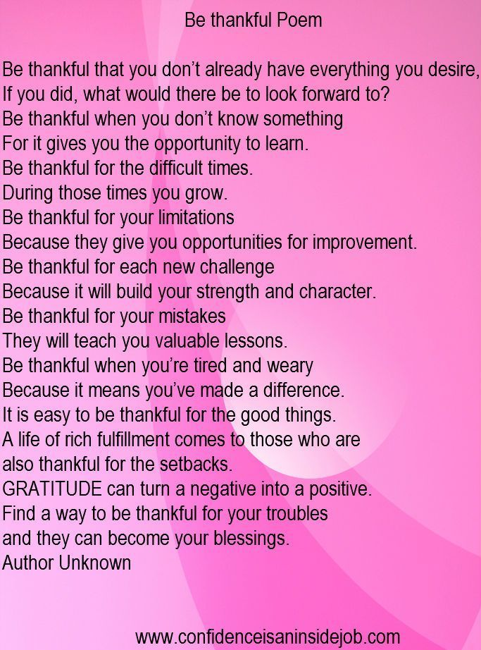 be thankful poem thankful poems