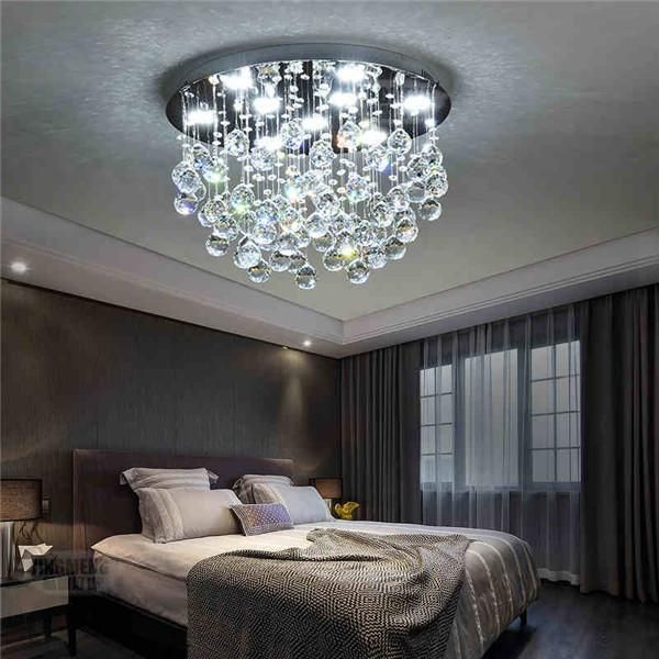 Modern LED Crystal Ceiling Light CL188 images