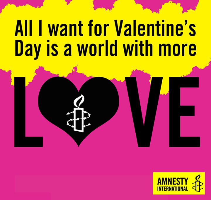 Nonprofits Ftw Amnesty International Usa Amnesty International Valentine S Day Quotes Non Profit